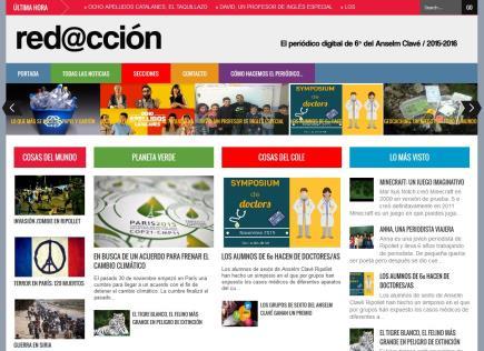 red@cción: el periódico digital de 6º
