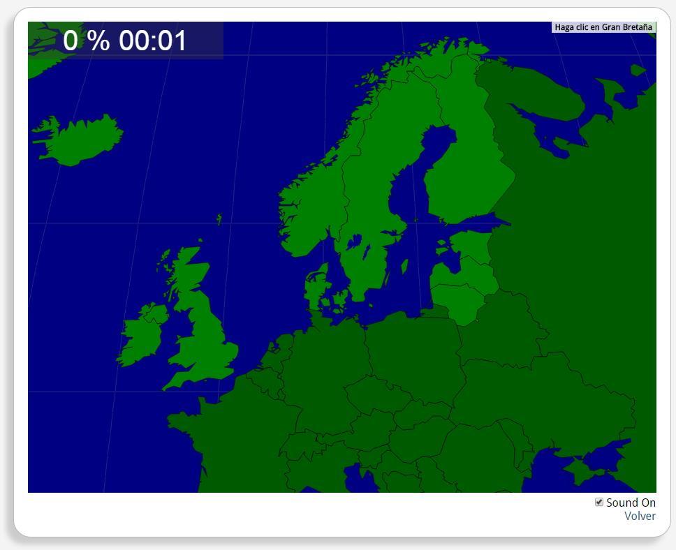 Northern Europe: Countries. Seterra