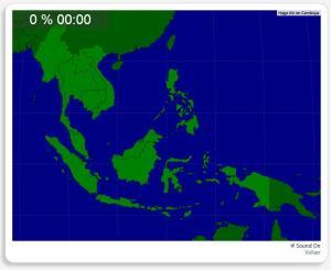 Sudeste da Ásia: Países. Seterra