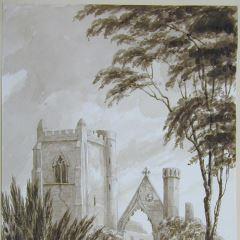 Ruinas de la catedral de Dunkeld (Escocia)