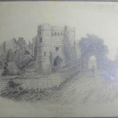 Castillo de Carisbrook, Isla de Wight (Inglaterra)