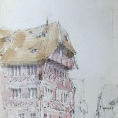 La casa de Alberto Durero en Nuremberg (Alemania)