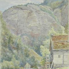Paisaje cerca de Eide (Noruega)