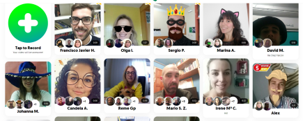 Flipping Students: a Collaborative Project  with other EEOOII Using Flipgrid