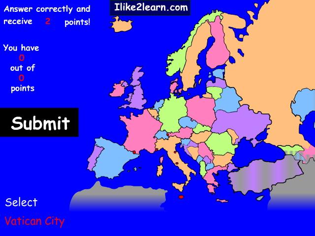 Countries of Western Europe. Ilike2learn