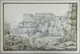 Palacio en las cercanias de Palermo (Italia)