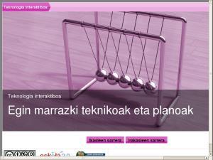 Teknologia interaktiboa - Egin marrazki teknikoak eta planoak