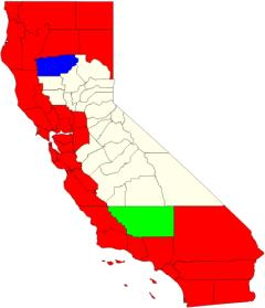 California counties map  (JetPunk)