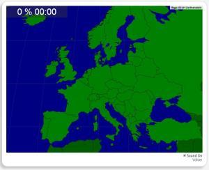 Europa: Nazioni. Seterra