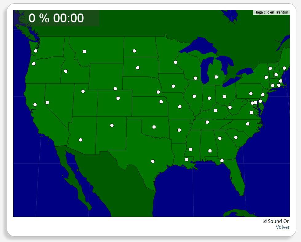 USA: Hauptstädte der Bundesstaaten. Seterra