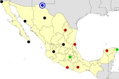 Mexico cities map  (JetPunk)