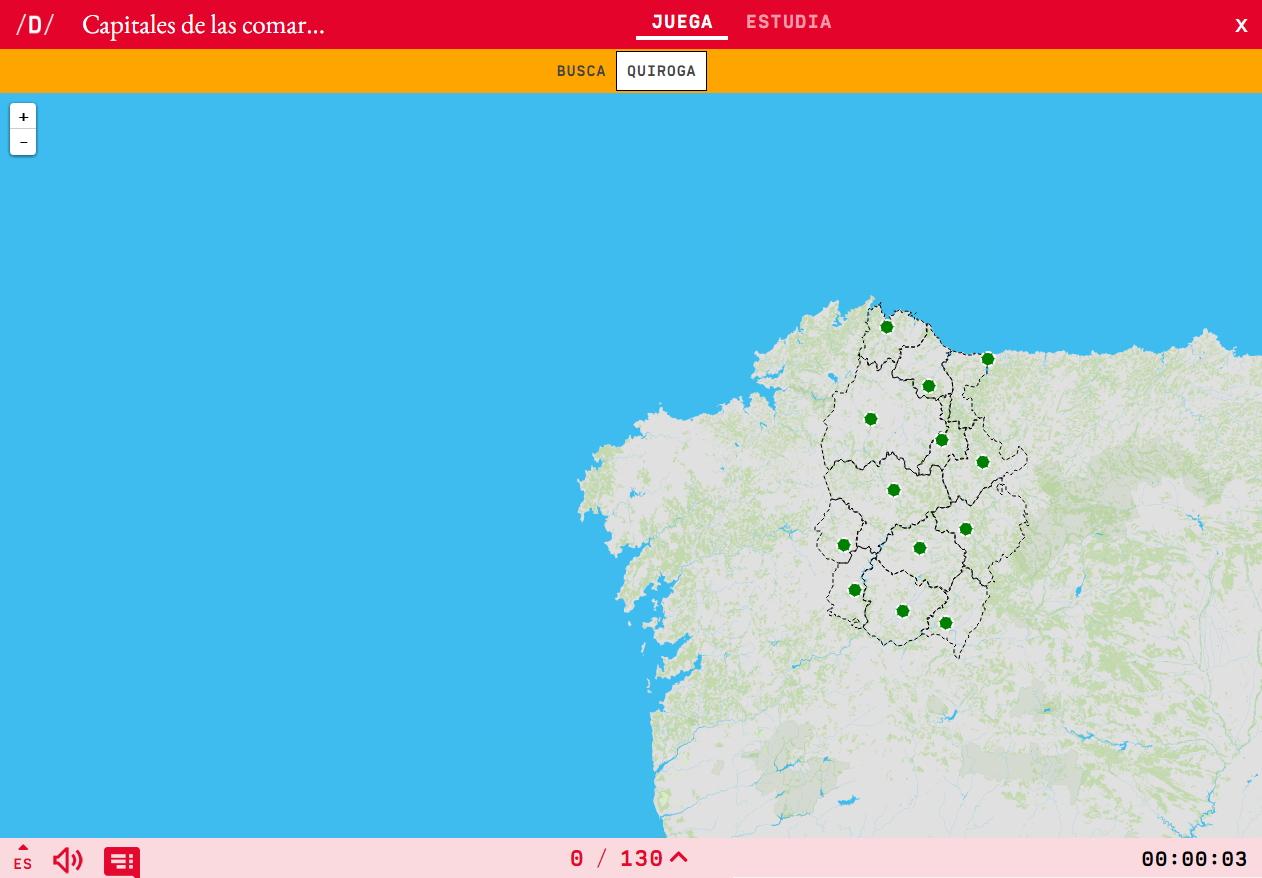 Capitais de comarcas de Lugo