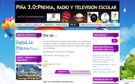 Piña 3.0: prensa, radio y TV en la escuela