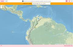 Il rilievo della Colombia
