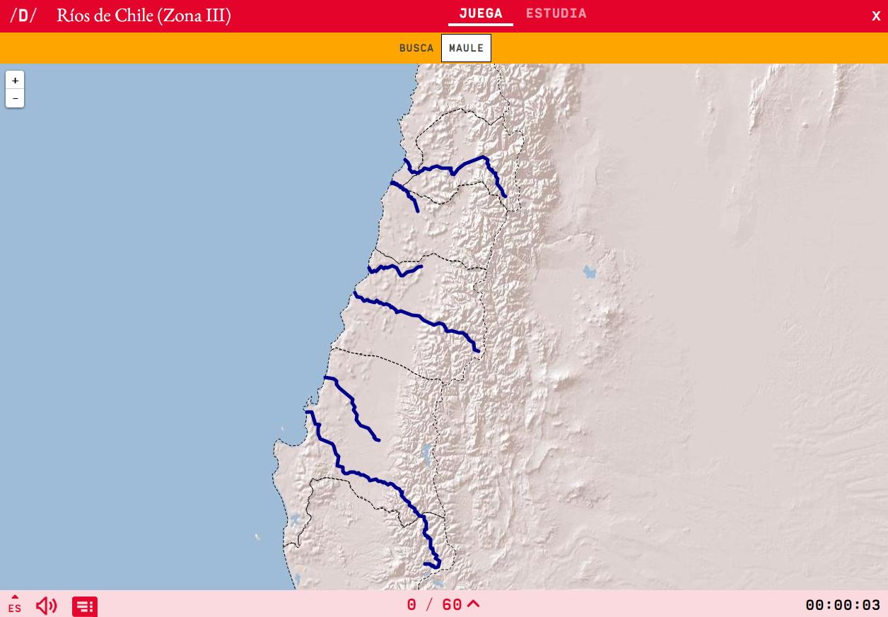 Rios de Chile (Zona III)