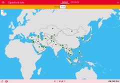 Hauptstädte von Asien