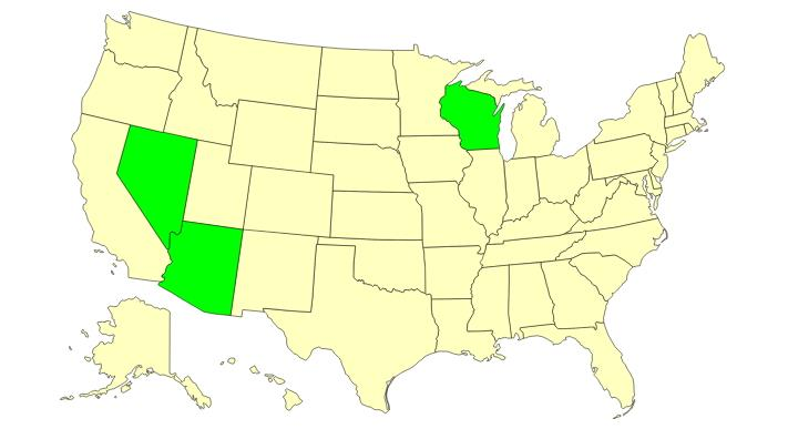 Estados de los Estados Unidos (JetPunk)