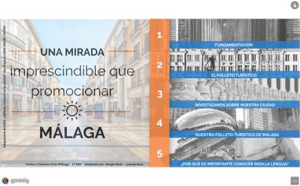 Una mirada imprescindible que promocionar, La Axarquía y Málaga