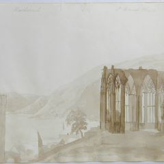 Bacharach y la capilla de San Werner (Alemania)