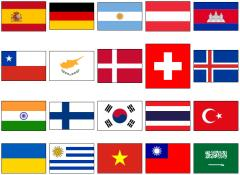 World country flags 2 (JetPunk)