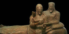 Etruscan art: stages