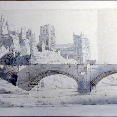 Vista de Durham (Inglaterra)