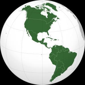 América: Países, Regiones y Capitales