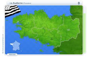 Villes de Bretagne. Jeux géographiques