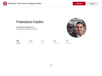 Pinterest Francisco Castro López