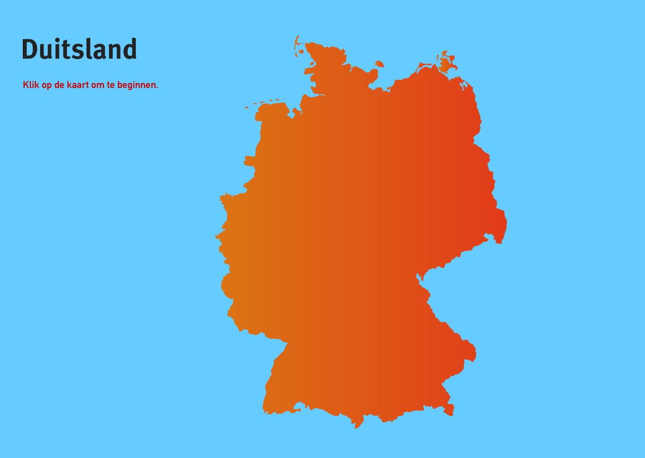 Duitsland. Topo VMBO