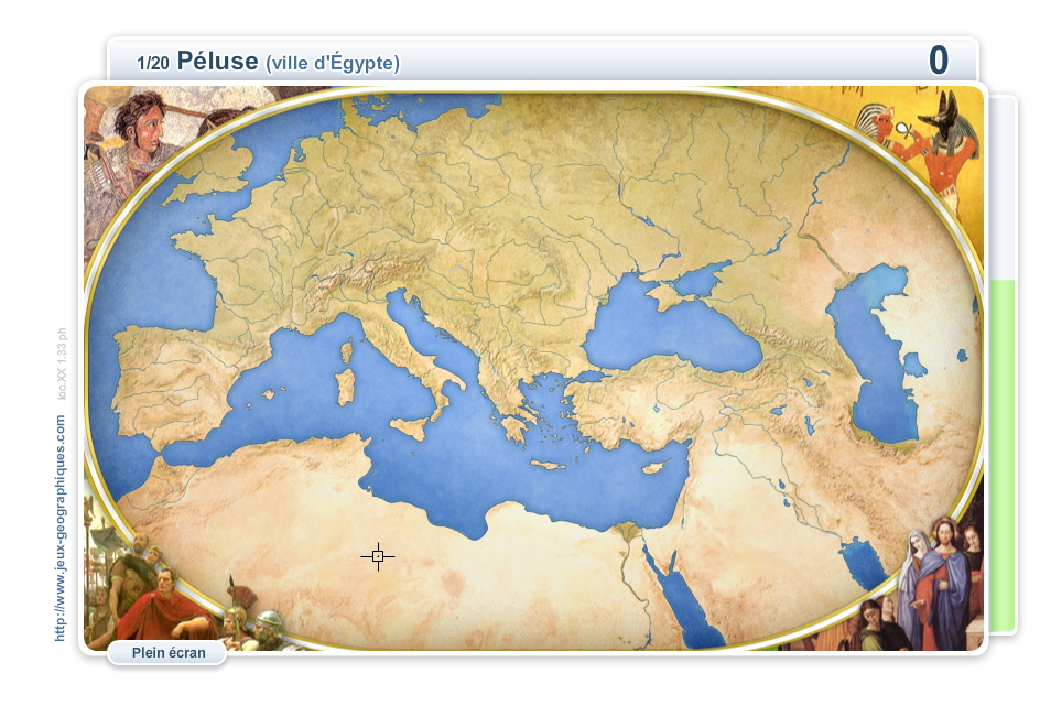 Sites de l'Antiquité. Jeux historiques