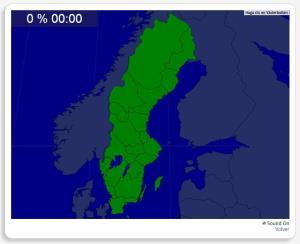 Sweden: Provinces. Seterra