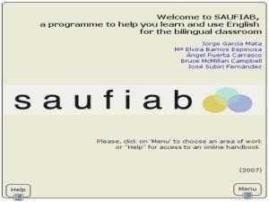 Sistema de Apoyo al Uso Funcional del Inglés en el Aula Bilingüe (SAUFIAB)