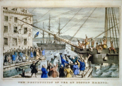Important events of the 18th century (middle)