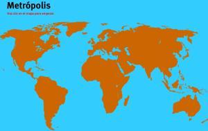Metrópolis del Mundo. Juegos de Geografía