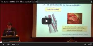 Dr. Guirao - SERMEF 2015 - Mesa amputado Vascular
