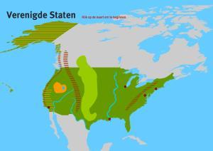 Verenigde Staten BB/KB. Topo VMBO