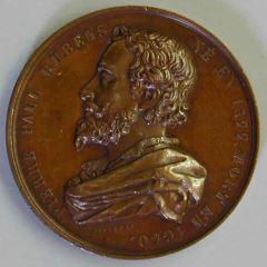 Medala conmemorativa del pintor Pedro Pablo Rubens