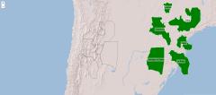 Províncies de la regió nord-oest de Argentina
