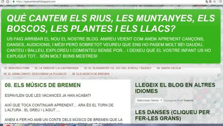 QUE CANTEM ELS RIUS, LES MUNTANYES, ELS BOSCOS, LES PLANTES I ELS LLACS