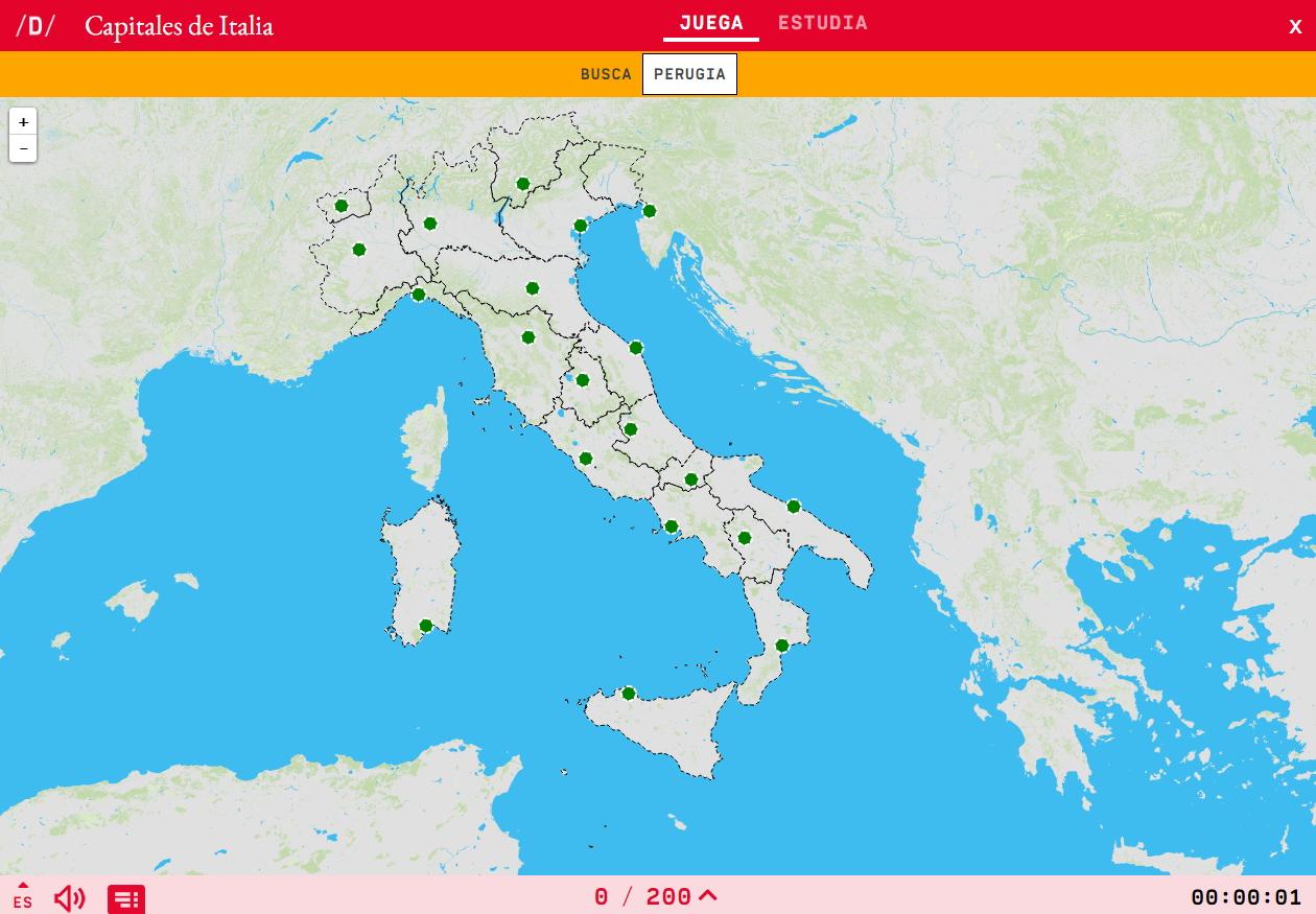 Capitais de Italia