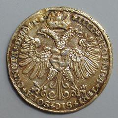 Medalla del emperador Carlos V