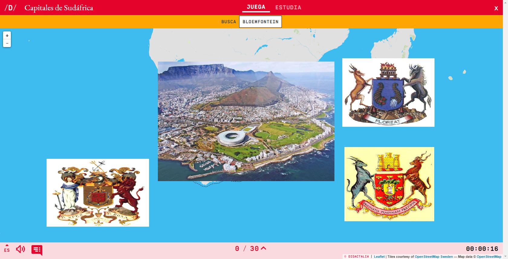 Capitals de Sud-àfrica