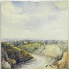 El río Avon atravesando Cliffton Downs, Bristol (Inglaterra)