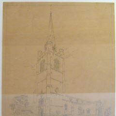Iglesia de Holy Cross en Byfield, Northamptonshire (Inglaterra)