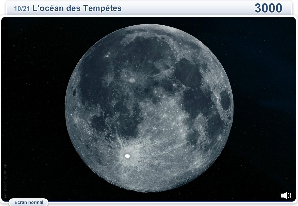 Géographie de la Lune