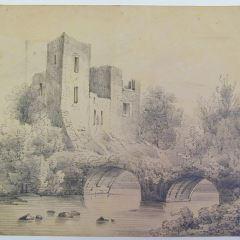 Castillo junto a un puente
