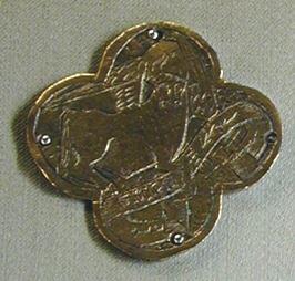 Placa de aplicación para cruz