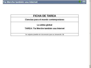 Tía Merche también usa Internet