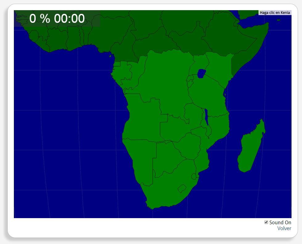 Zuidelijk Afrika: Landen. Seterra
